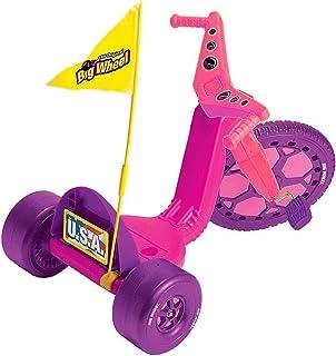 The Original Big Wheel - 16 inch Girl`s Big Wheel Racer with Flag & Licence Plate Kit - Pink