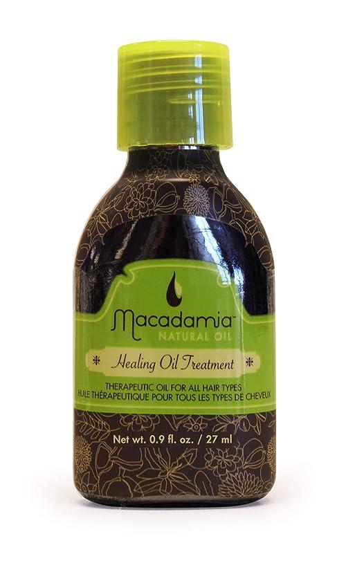 人に関する限り不十分なグリップマカダミアナチュラルオイル Healing Oil Treatment (For All Hair Types) 27ml/0.9oz並行輸入品