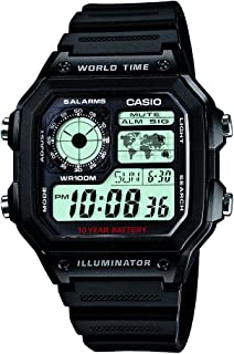 Casio Youth Grey Dial Men's Watch - AE-1200WH-1AVDF (D097)