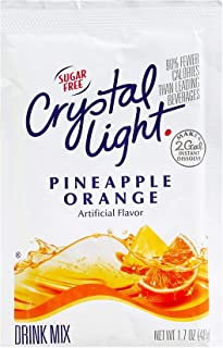 Crystal Light Pineapple Orange Drink Mix, Makes 2 Gallons (12 Packets)