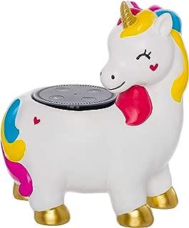 PINE AND PAINT LLC Unicorn Echo Dot 2nd Gen 1st Gen Amazon Alexa Speaker Holder