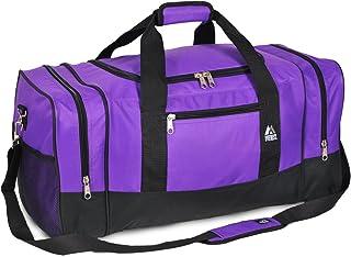 Luggage Sporty Gear Bag – Large, Dark Purple, One Size