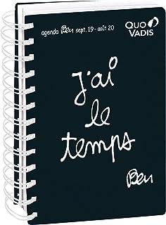 Quo Vadis Ben TEXTAGENDA 21 - Agenda scolastica giornaliera, 15 x 21 cm, anno 2019-2020