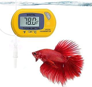 SunGrow Digital Thermometer, Betta - Yellow