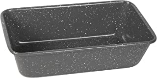 Cook with Color Bakeware Non Stick Loaf Pan, Speckled 9x5 Baking Pan, For Breads, Cakes, and Loaves (Grey)