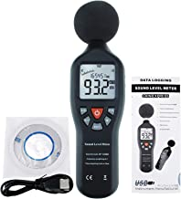 Professional Decibel Meter, Digital Sound Level Meter with Backlight Display High Accuracy Measuring 30dB-130dB (with Data...