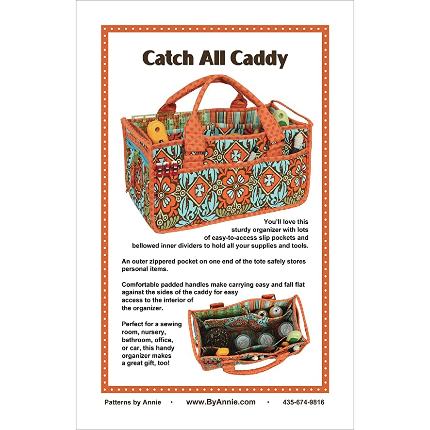 Annie PBA-225 Catch All Caddy Pattern / Instructions Only