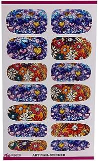 OD企画 ネイルステッカー 女性 女の子 新しいネイルアップリケネイルアート花 3D ネイルアートステッカーデカールマニキュアゴールド/シルバーデコレーション ヒント 2019 新作 人気 可愛 安い 高品質 安全 無毒 爪