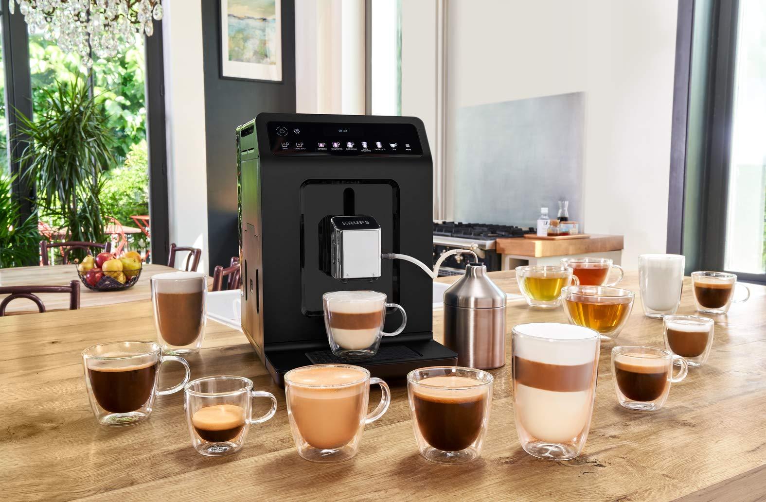 Krups Evidence Espresso EA8918 - Cafetera Superautomática 15 Bares ...