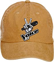 Tommery Unisex The Voice Hip Hop Baseball Caps