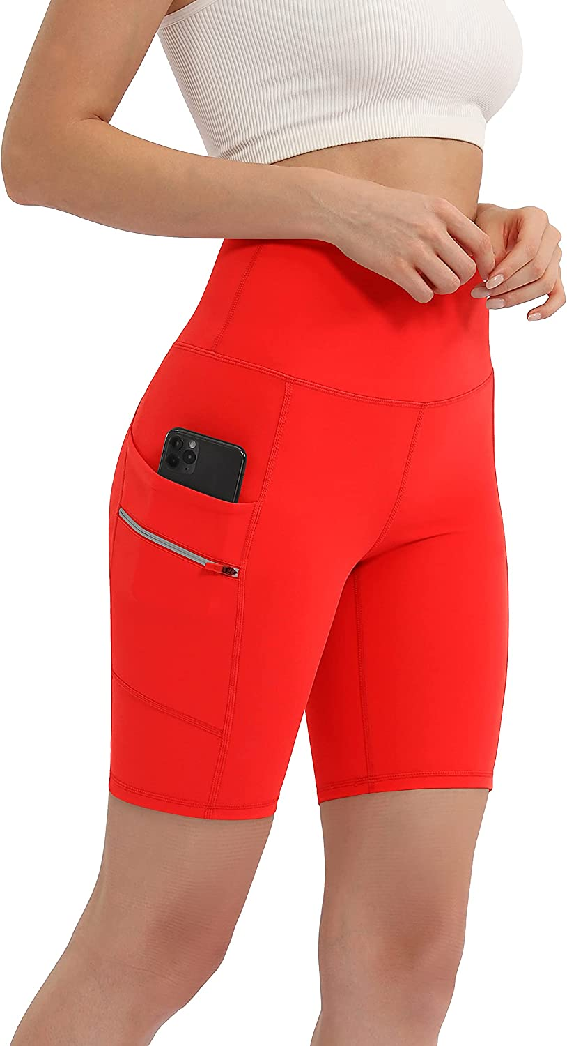 ODODOS Max 54% OFF Women's Dual Pockets Columbus Mall High Waisted 8