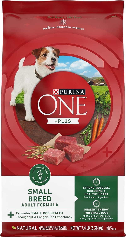 Purina ONE +Plus Small Breed Lamb & Rice Formula