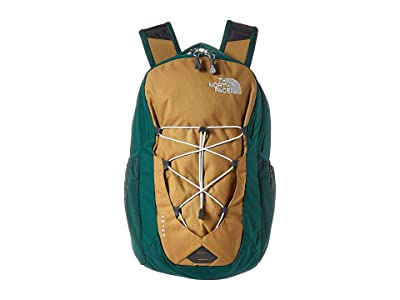 The North Face Jester Backpack (British Khaki/Night Green) Backpack Bags