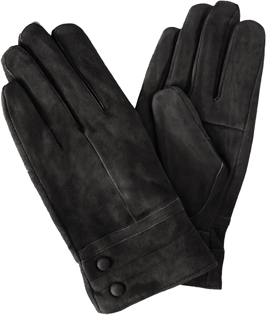 KMystic Classic Suede Leather Winter Gloves
