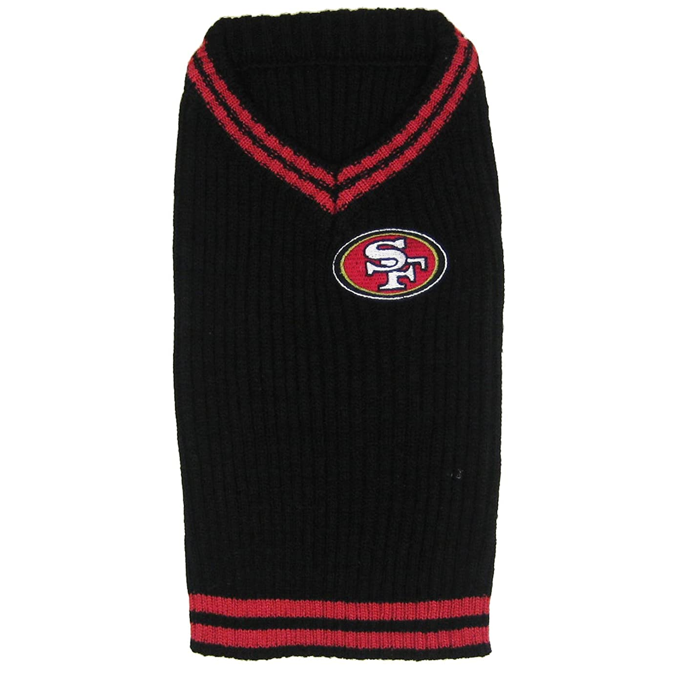 Pets First San Francisco 49Ers V-Neck Sweater