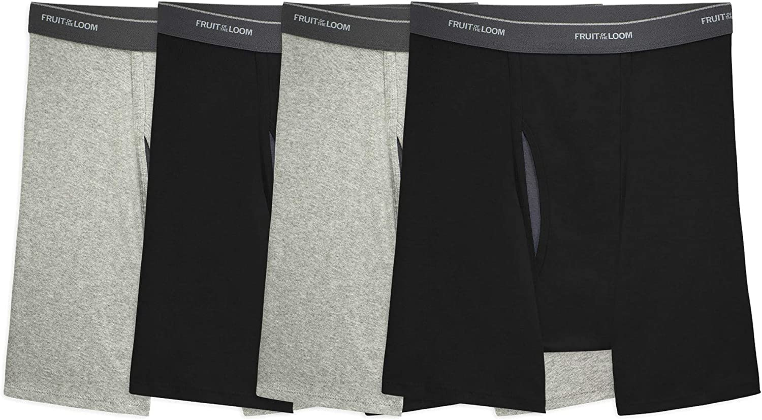 Fruit Of The Loom Mens Coolzone Boxer Brief 4 Pack
