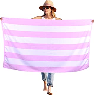 Best pink and white beach towel Reviews