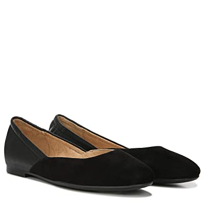 Naturalizer Pierce (Black Leather/Suede) Women