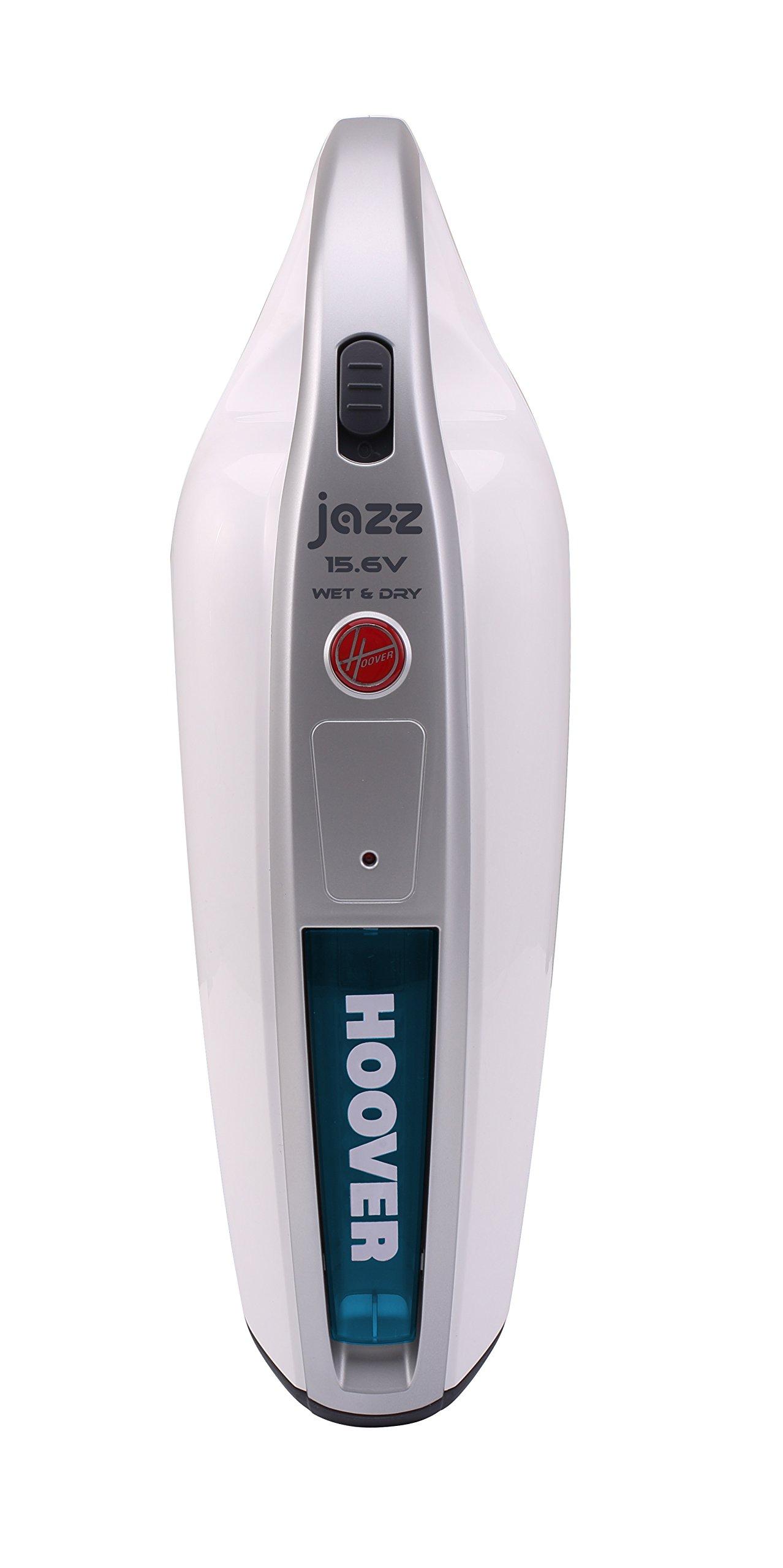 Hoover Jazz SM156WDP4 Aspirador de Mano - Sólidos y Líquidos - Autonomía 18 minutos - Potencia 15,6 V, 15.6 W, 0.2 litros, Plástico, Azul: Amazon.es: Hogar