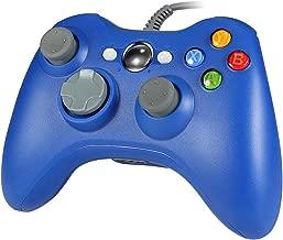 WiredPCController,WetophGD03USBGamepadwithHeadsetslotForXbox360andPC(WindowsXP/7/8/10)(Blue)