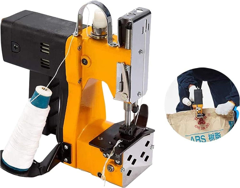 YC-Q5W0 Máquina de Coser portátil Industrial Máquina de Coser Máquina de Coser Embalaje eléctrico Costura y Sellado Snake Snoke Skin Bag Arroz Papel de plástico Bolsa 110-220V