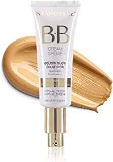 Marcelle Hypoallergenic and Fragrance Free BB Cream Golden Glow, Universal Shade Beauty Balm
