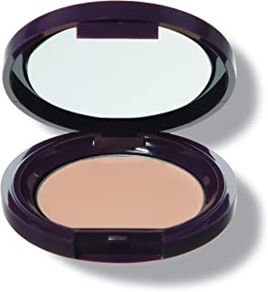 100% PURE Fruit Pigmented Long Last Compact Concealer, White Peach, Full Coverage Concealer, Brightens Dark Circles (Light to Medium Shade) - 0.11oz