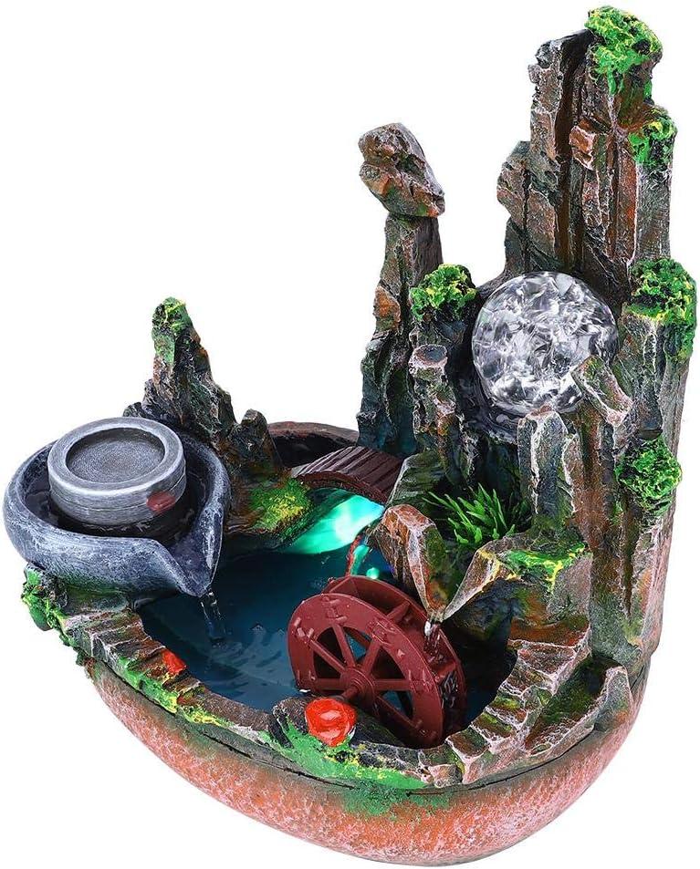 Teror Max 84% OFF Desktop Fountain Ornament Rockery Simulation Innovative De Cheap