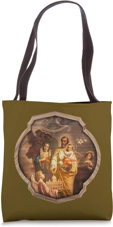 St Joseph Holy Catholic Church Ite Ad Catholic Saint Joseph Tote Bag