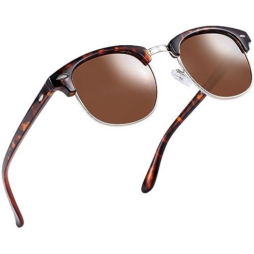db8b27d1f686 Joopin Semi Rimless Polarized Sunglasses Women Men Retro Brand Sun Glasses