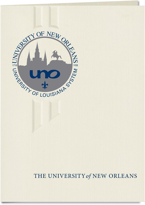Signature Ankündigungen Universität von New Orleans Orleans Orleans Abschluss Ankündigungen, eleganten Stil, Elite Pack 20 mit u. der New Orleans Dichtung Folie B0793JTY2K    Moderne Muster  870b00