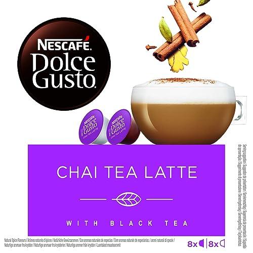 Cápsulas de Café con Estuche Nescafé Dolce Gusto 13065 Chai Tea Latte (16 uds)