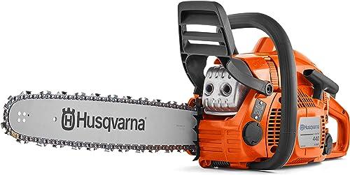 "popular Husqvarna 2021 440 18"" Gas outlet online sale Chainsaw, Orange online"