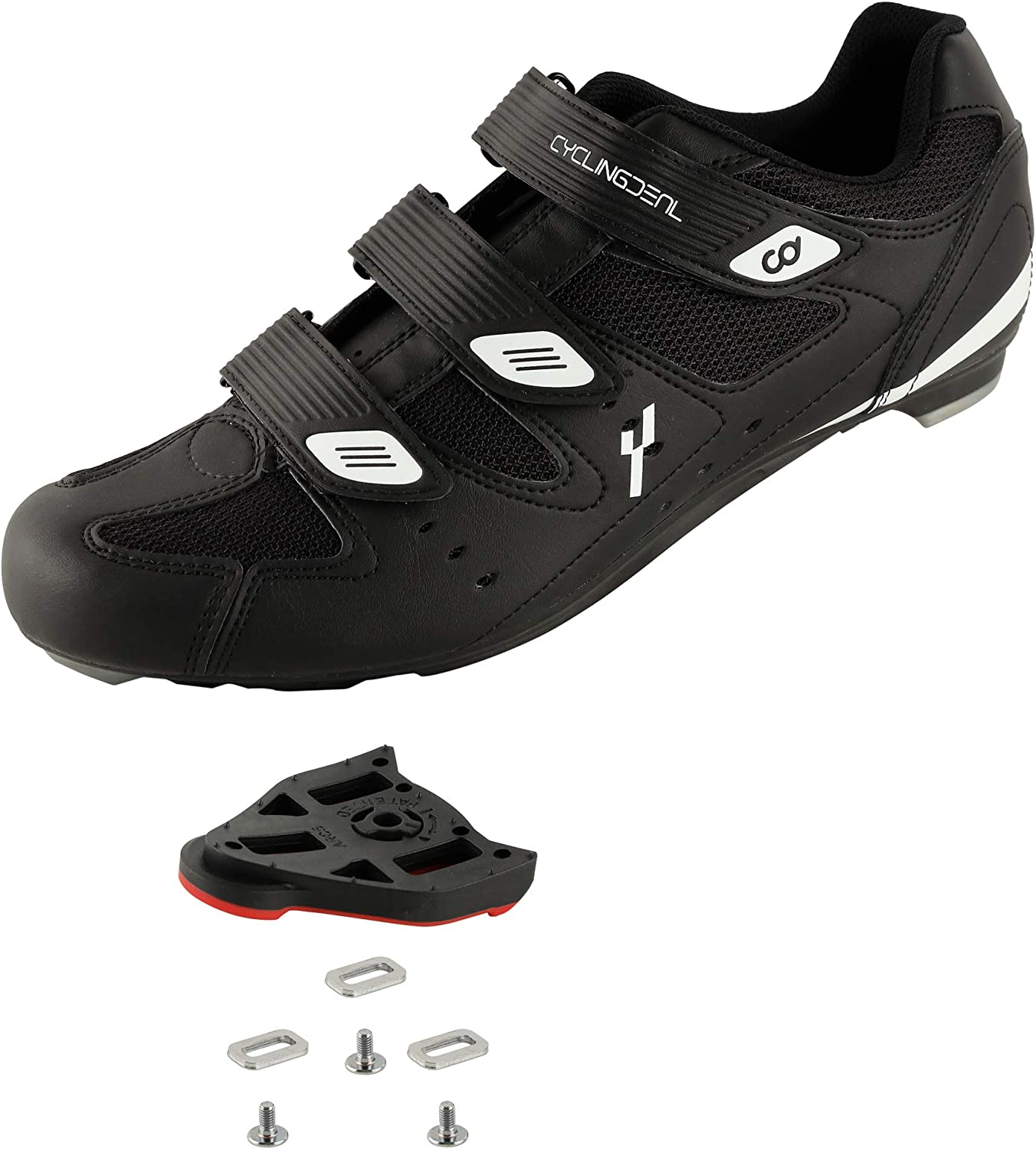 CyclingDeal Bicycle Road Bike Universal Cleat Los Angeles Mall Men's 25% OFF Mount Cyclin