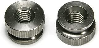 Brass Solid Knurled Thumb Nut UNC #6-32 Qty 1000