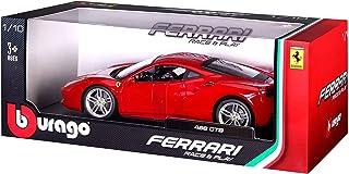 Bburago 16008 Ferrari 488 GTB Car Model - Scale 1-18