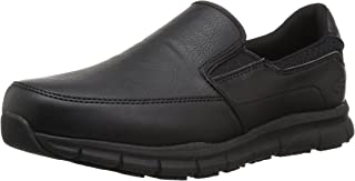 Skechers for Work Men's Nampa-Groton Food Service Shoe,black