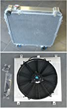 Aluminum Radiator+Shroud+Fan For Toyota Hilux Surf KZN130 1KZ-TE 3.0 TD 1993-1996