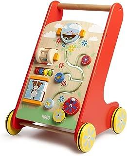 tidlo wooden baby walker