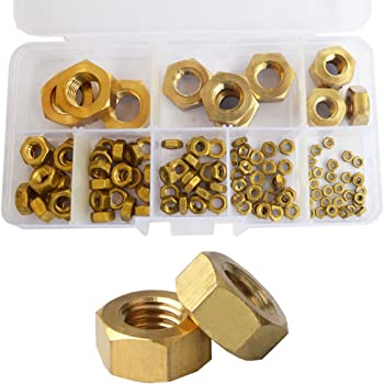 200pcs Metric Thread M1.6 Brass Hex Nuts Free Shipping