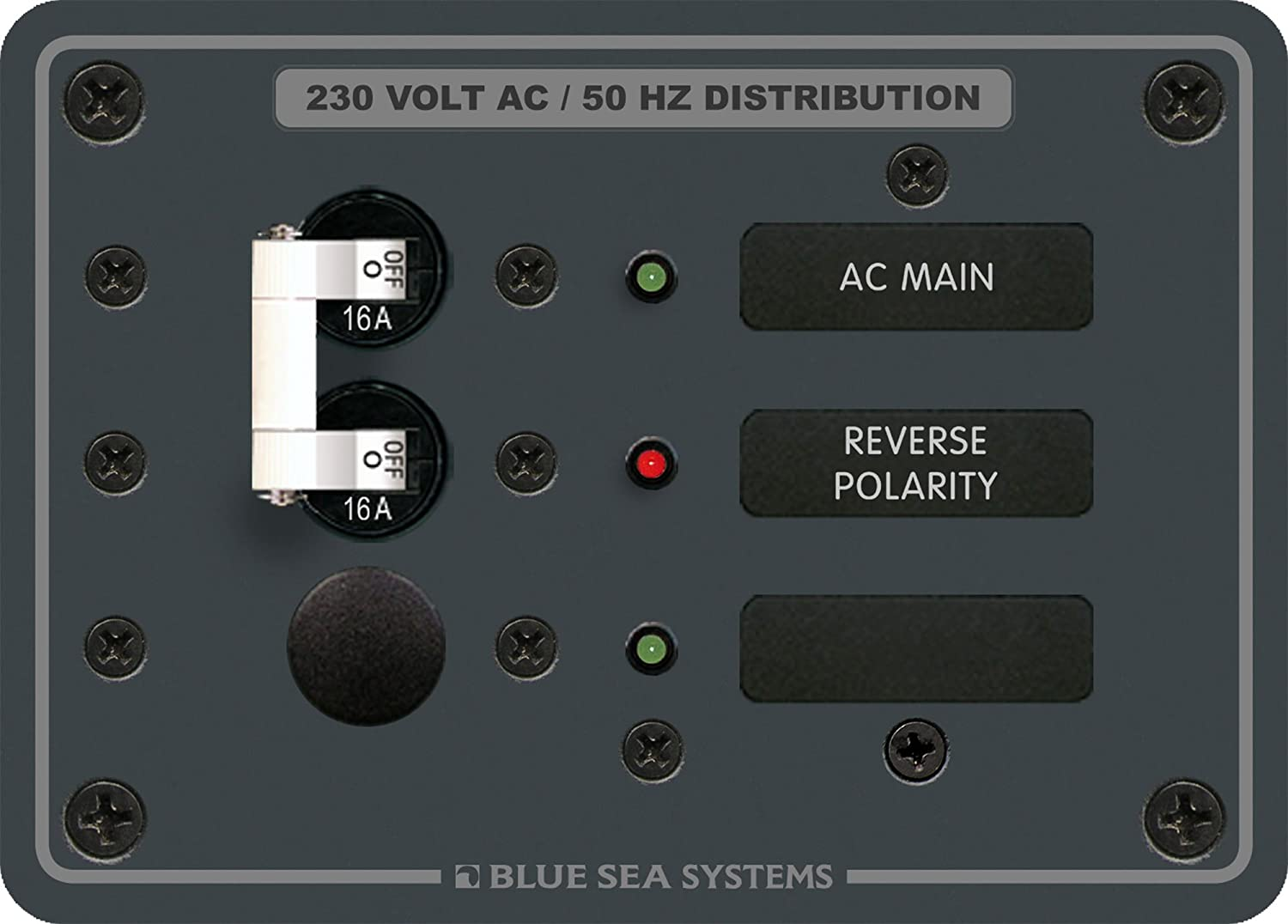 blueee Sea Systems European AC Main with 1 Position