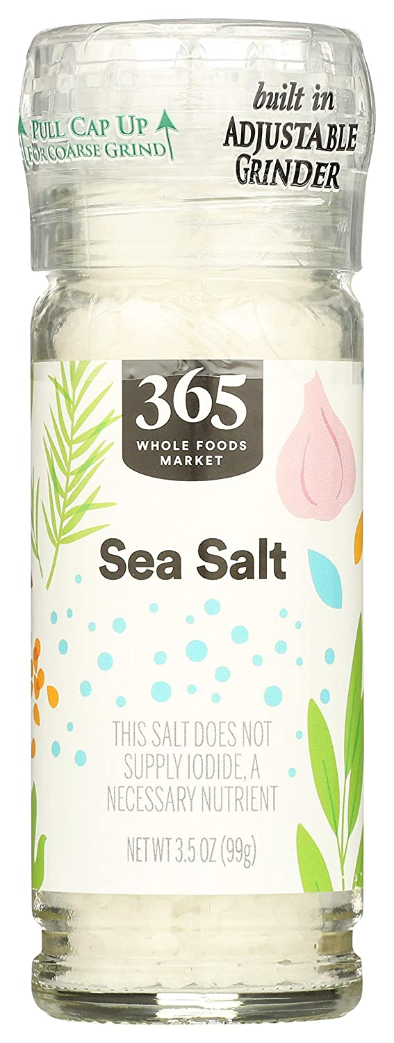 365 by Discount is also underway WFM Sea Grinder Many popular brands Salt Ounce 3.5