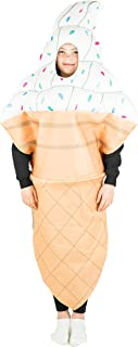 Bodysocks Kids Ice Cream Fancy Dress Costume
