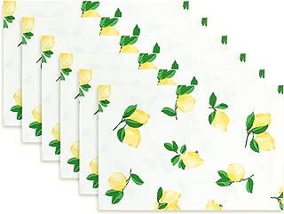 Kate Spade New York Make Lemonade Placemat, Set of 6, Multi