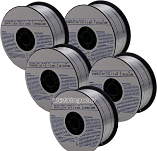 WeldingCity 5 Rolls of ER4043 Aluminum MIG Welding Wire 1-Lb Spool 0.035