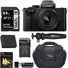 Panasonic DC-G100KK LUMIX G100 Mirrorless 4K Vlogging Camera with 12-32mm F3.5-5.6 Lens, Spare Battery, Ritz Gear Camera B...
