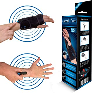 CarpalCure Wrist Brace (Right)- Fast Pain Relief. Effective Treatment of Carpal Tunnel Syndrome, Tendonitis & Arthritis & Sprained Wrists