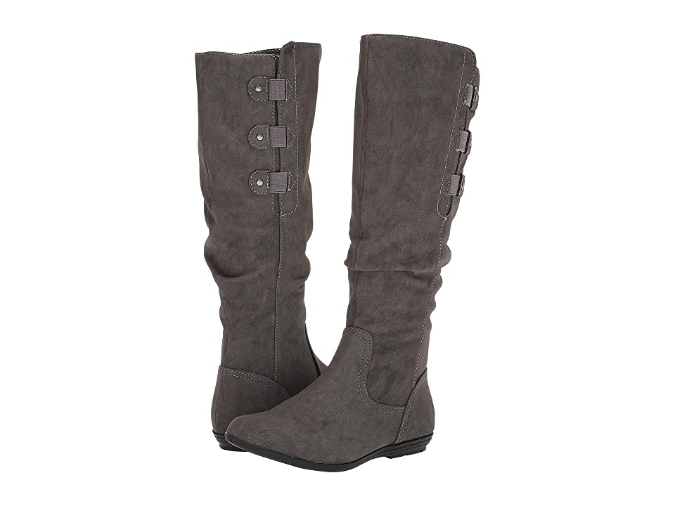 White Mountain Felisa (Charcoal Sueded) Women