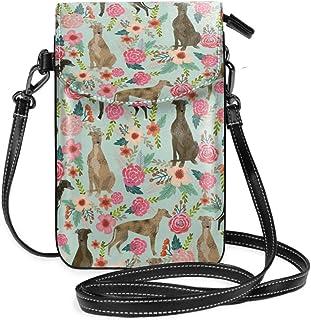 Dog Eight Saluki Greyhound Flower Crown Plain Design Stuff Sack