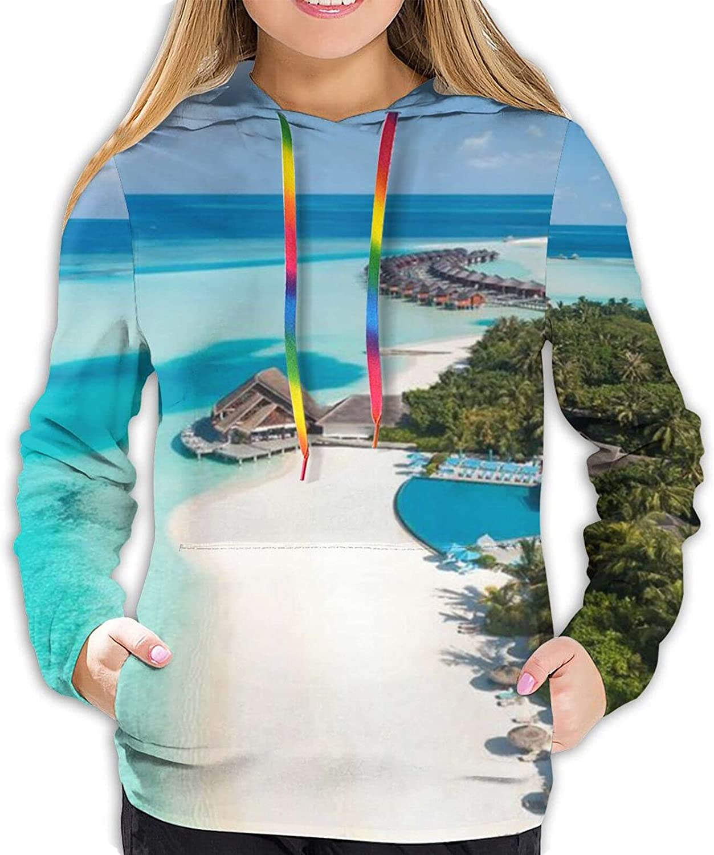 Stylish It is very popular Sea Hoodies Women 3D Casual Hoodie Sweatshirts Pullover Max 43% OFF